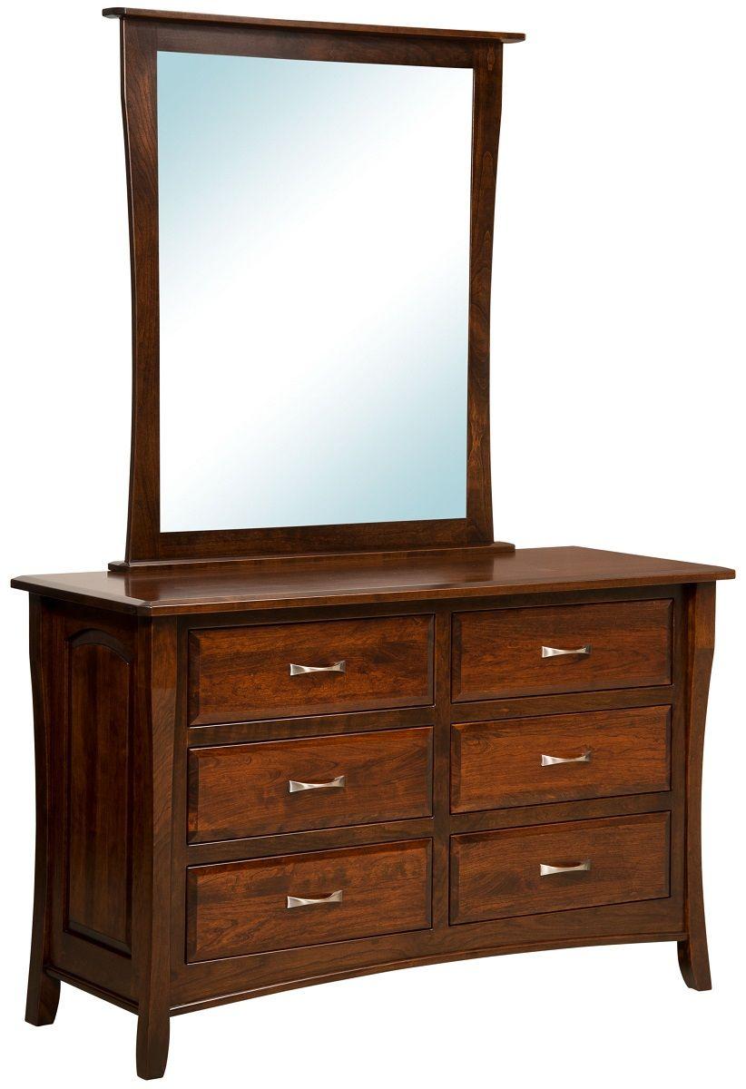 6-Drawer Child's Dresser with Mirror