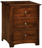 Salinas 3-Drawer Nightstand