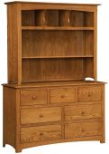 Salinas Dresser with Hutch Top