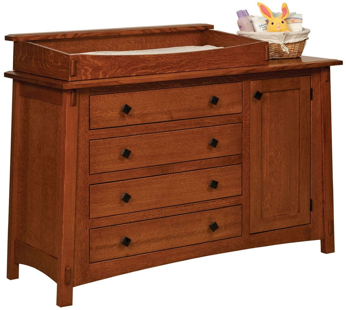 Amish Made Changing Table Dresser