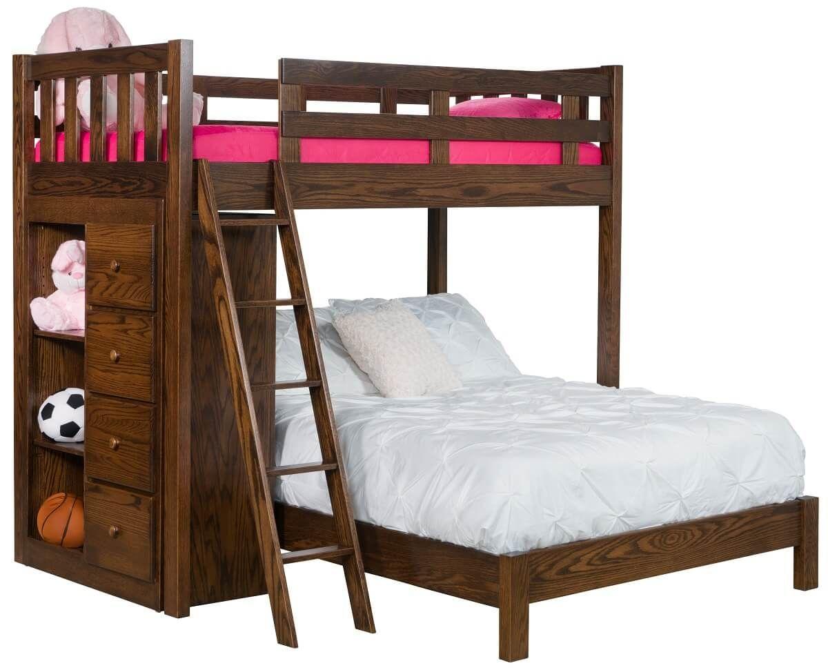 Shalina Storage Bunk Bed
