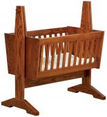 Southwest Mission Baby Cradle