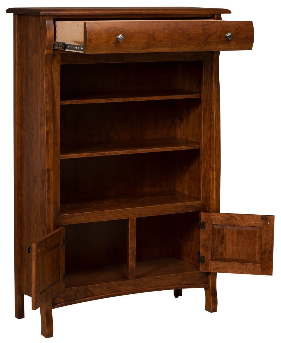 Hardwood Bookcase for Nursery