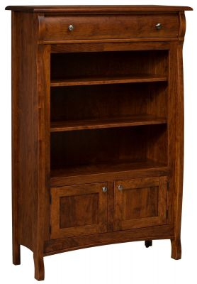 West Estates Bookcase with Storage