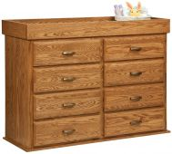 William Changing Table Dresser