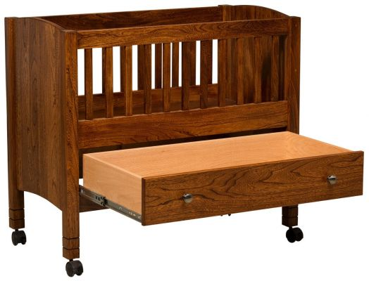 Bassinet with Drawer