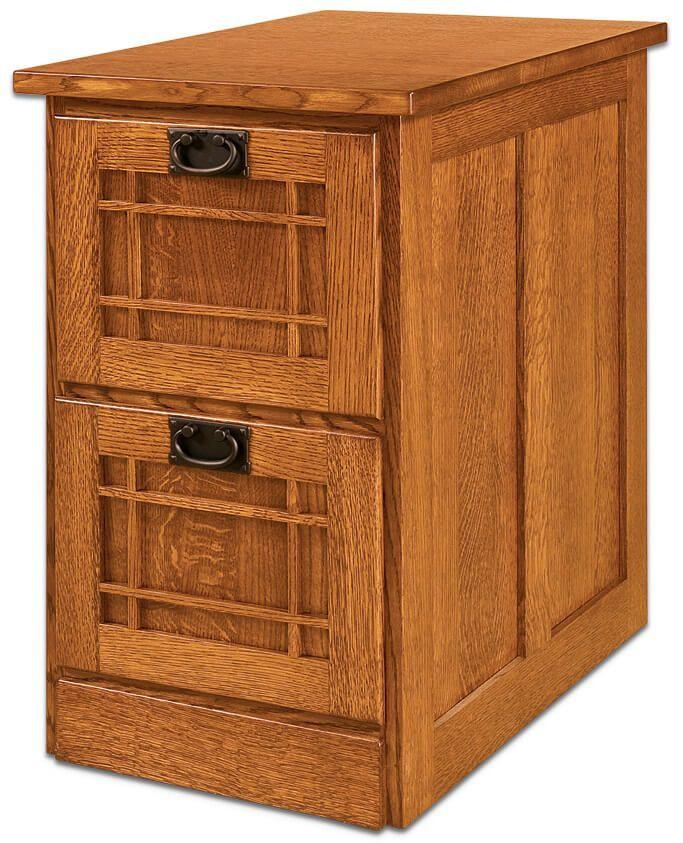 2-Drawer Joshua's Craftsman File Cabinet