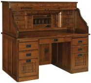 Joshua's Craftsman Roll Top Desk