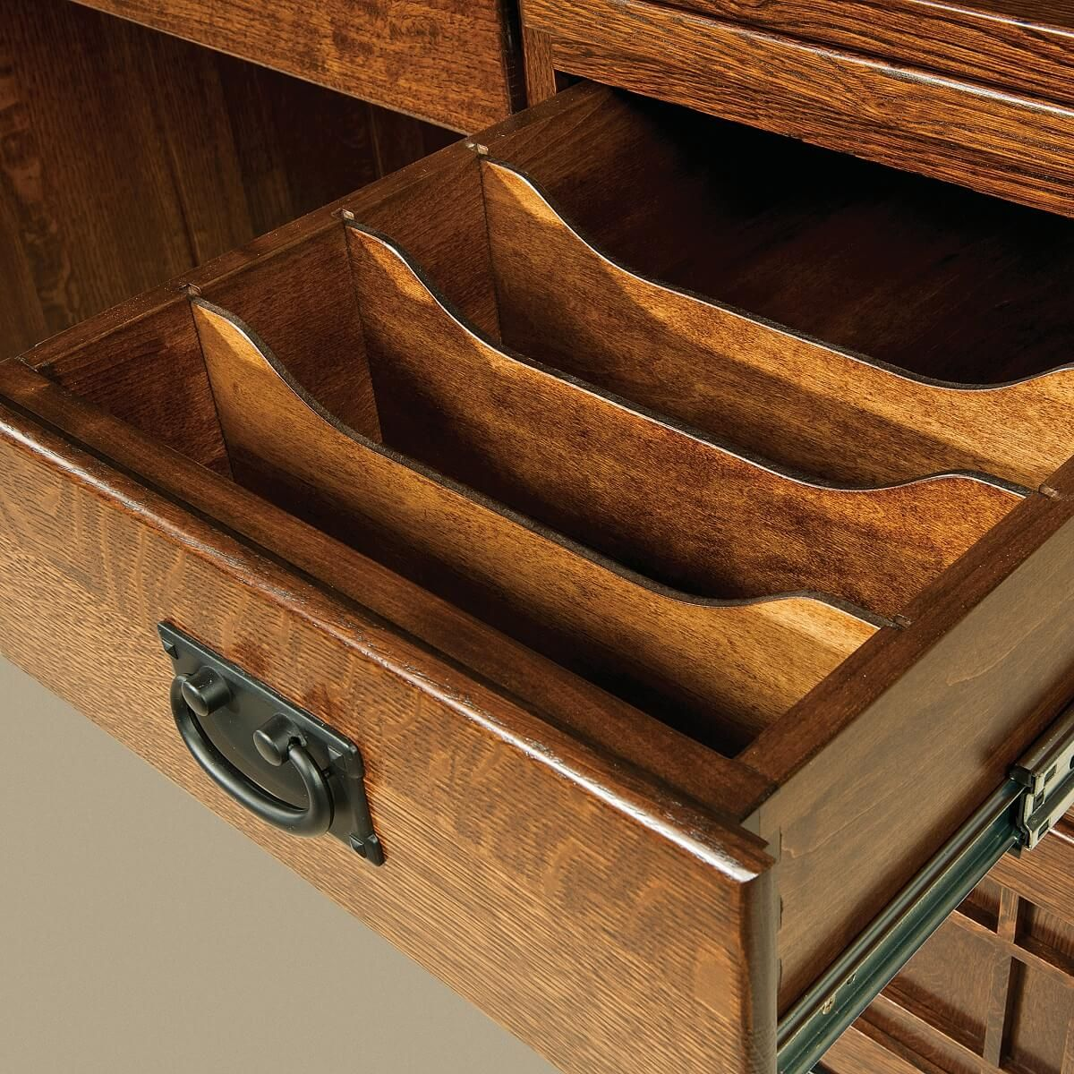 Dividers in Pedestal Drawer