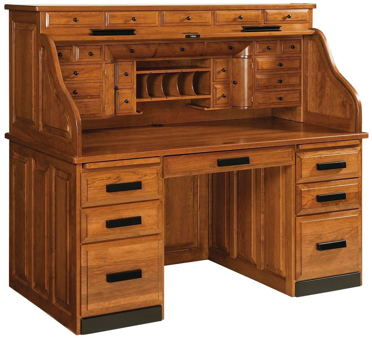 Clarion Custom Roll Top Desk
