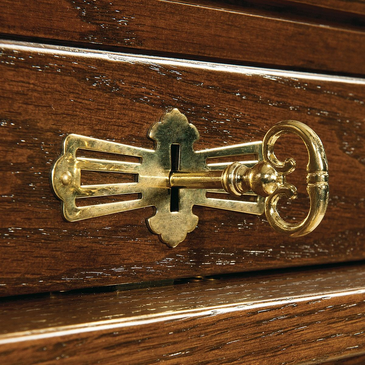 Keyed Tambour Lock