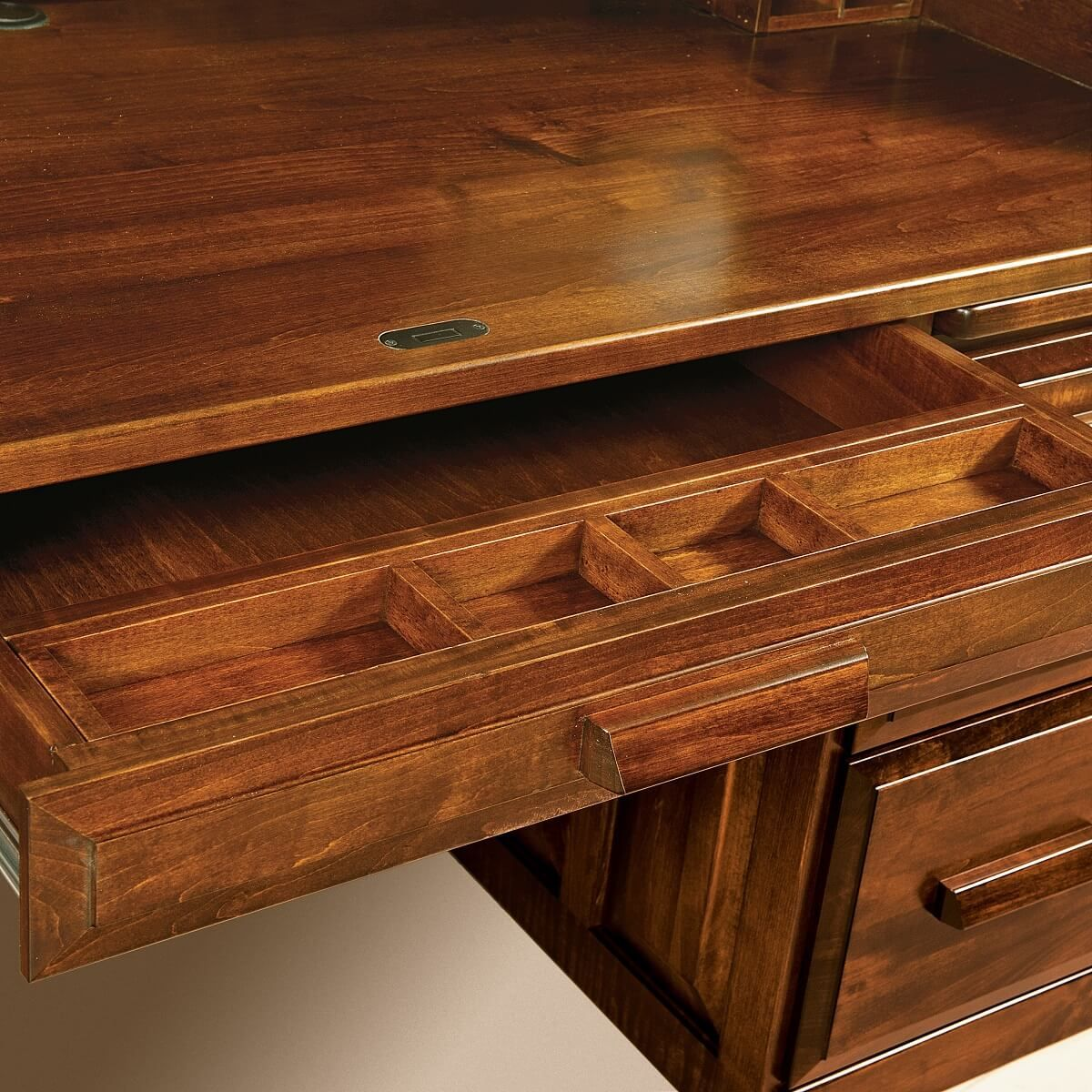 Roll Top Pencil Drawer