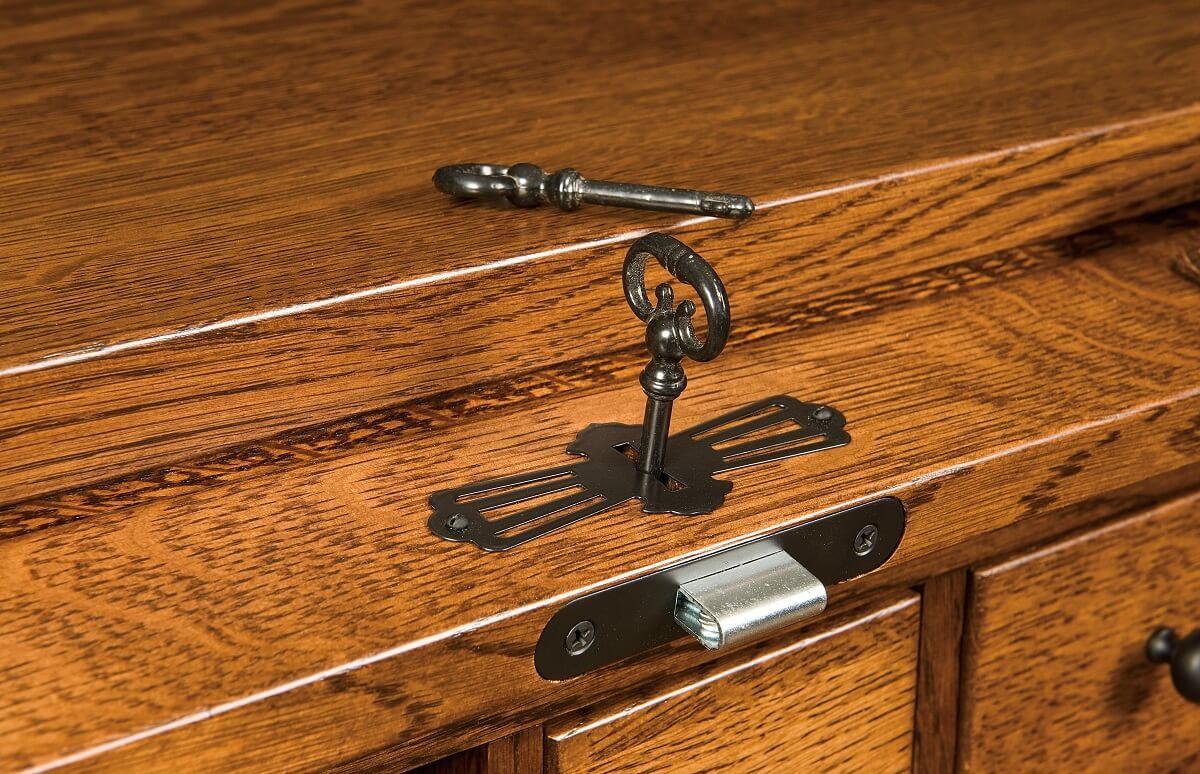 Tambour Lock and Key