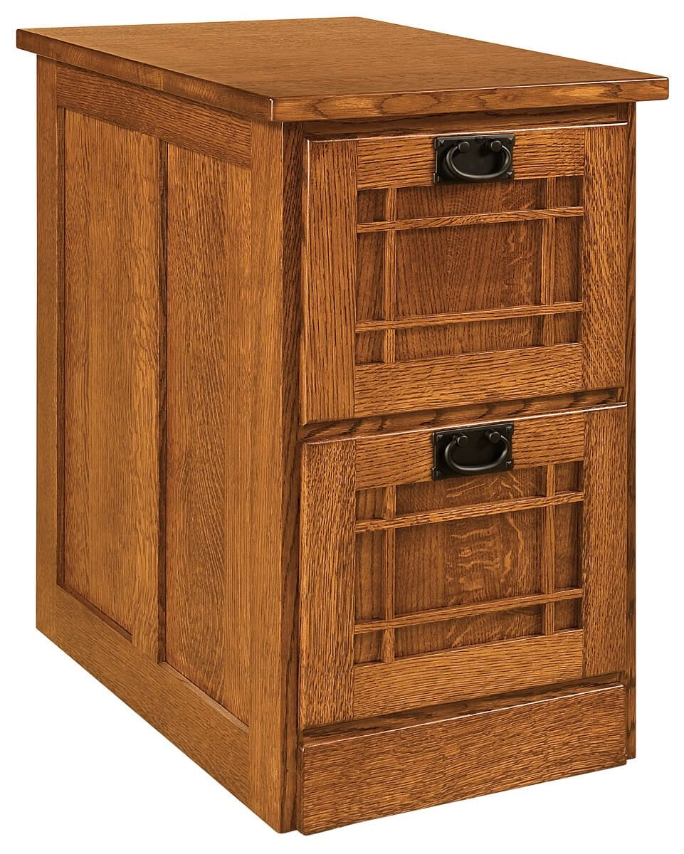 2-Drawer Joshua's Craftsman File Cabinet
