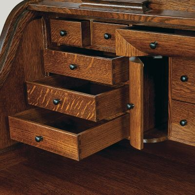 Dovetailed Desk Top Drawer