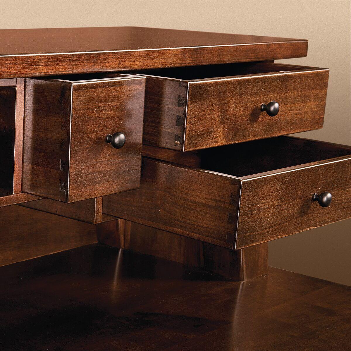 Dovetailed Desk Drawer
