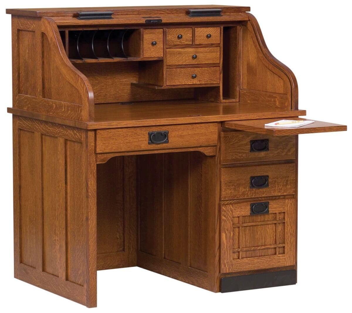 Mentor's Roll Top Desk