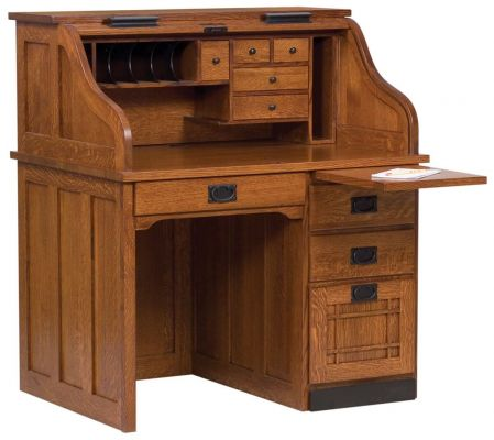 Mentor's Roll Top Desk