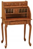 Morley Secretary Roll Top Desk