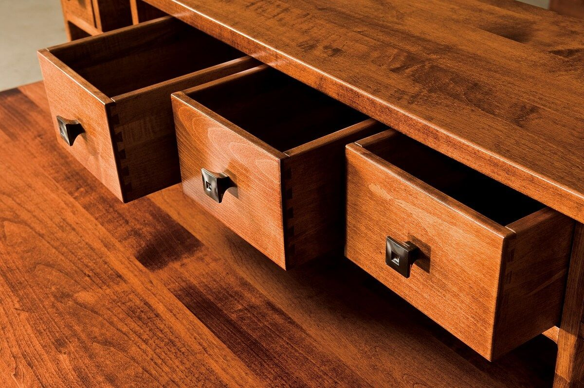 Dovetailed Desk Drawers