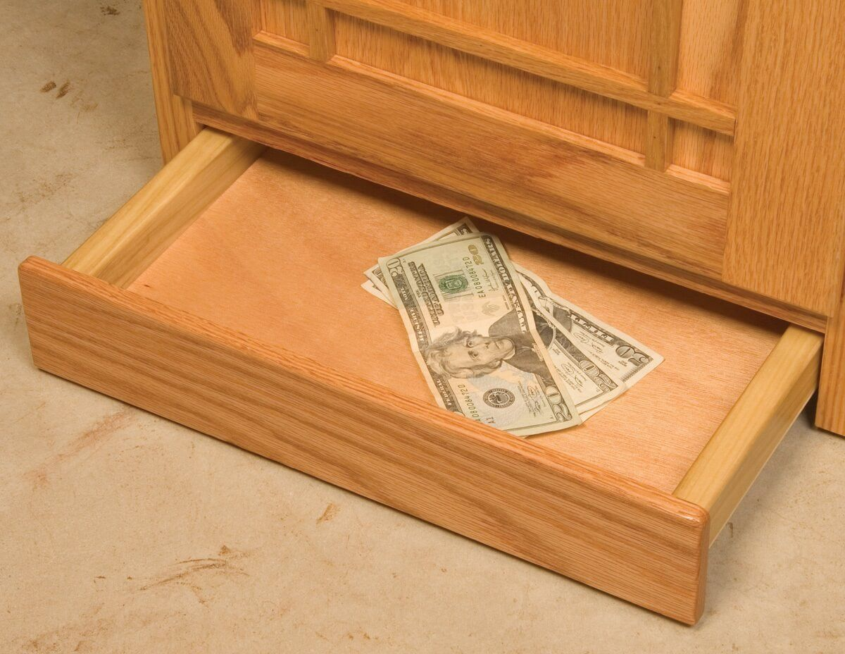 Secret Drawer in Base
