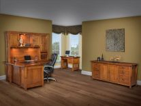 Executive Office Furniture Sets - Countryside Amish Furniture