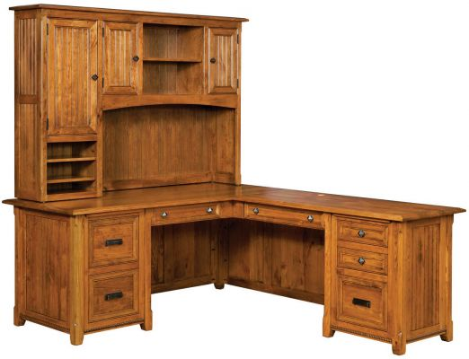 Emory Corner Desk with Hutch
