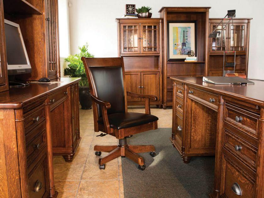 Risley Fine Executive Office Set Countryside Amish Furniture