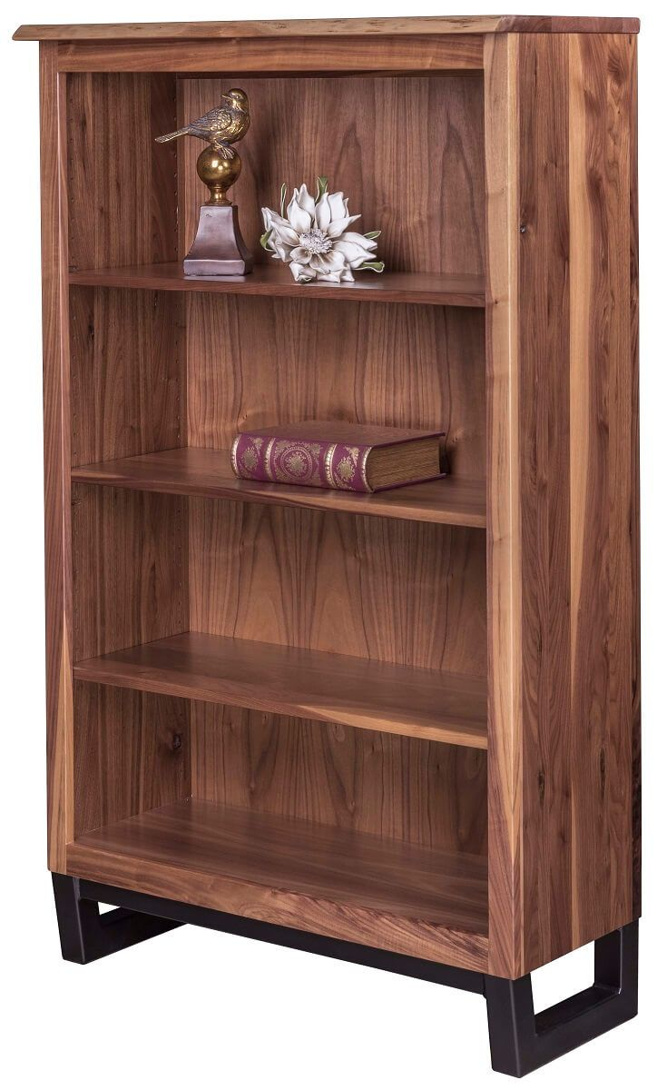 Chadron Live Edge Bookcase