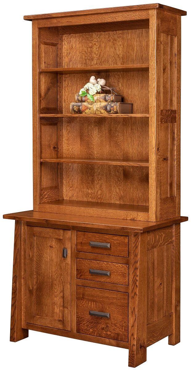 Hartington 3-Drawer Bookcase Credenza