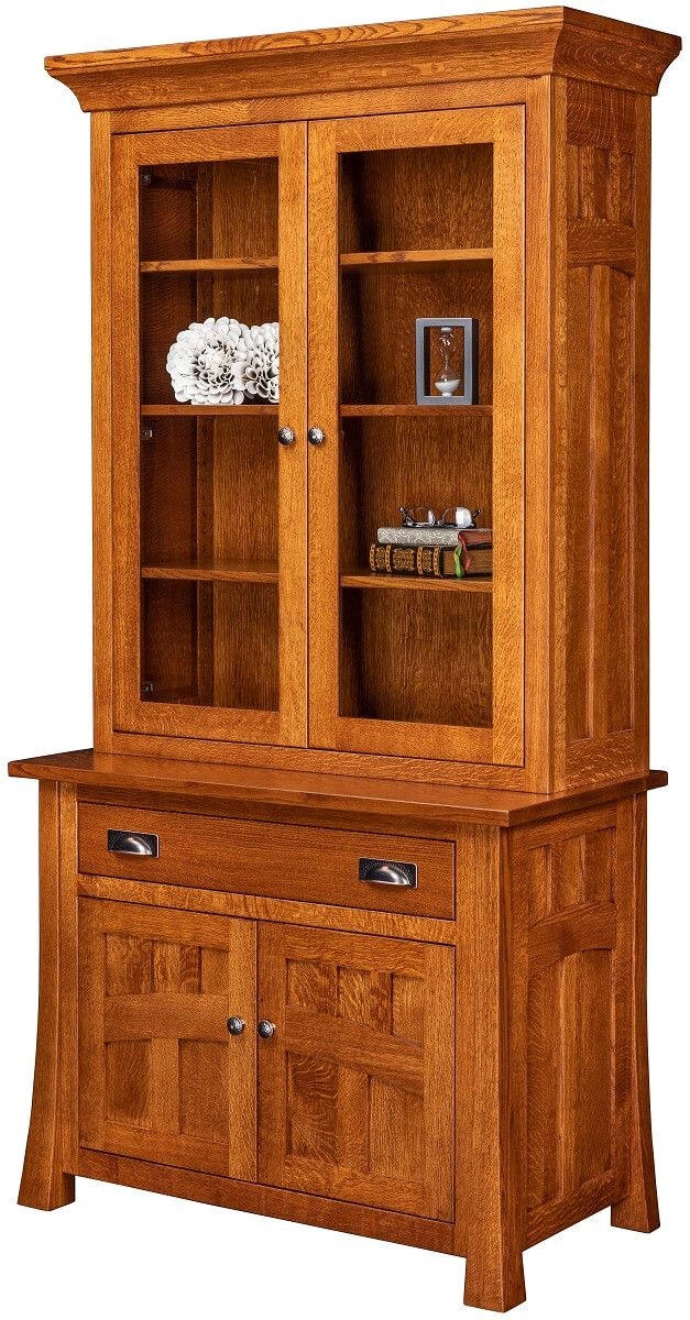 Mission Canyon 1-Drawer Bookcase