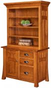 Mission Canyon 3-Drawer Bookcase