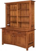 Pottsville Credenza with Hutch