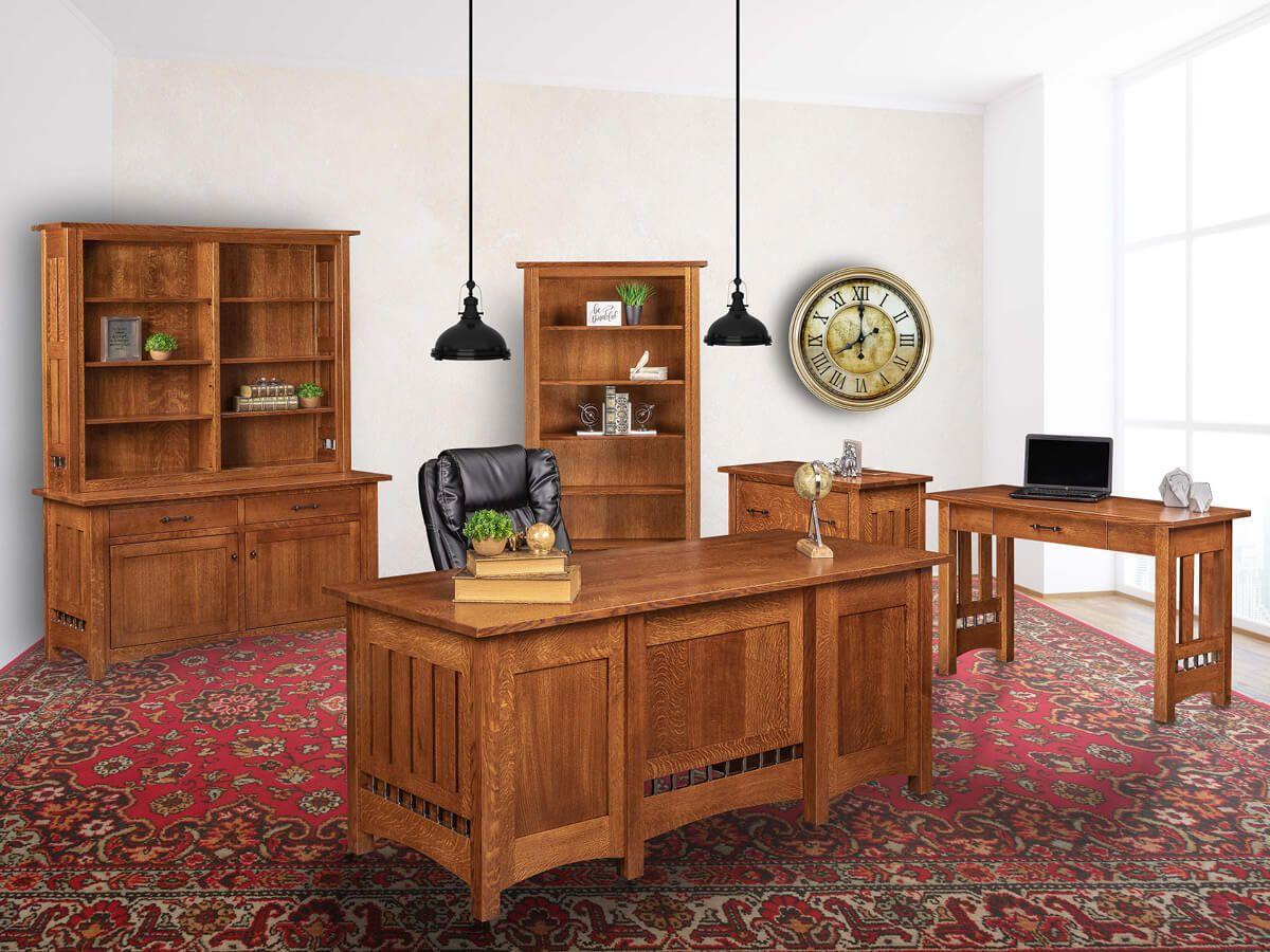 Mission Office Furniture Set