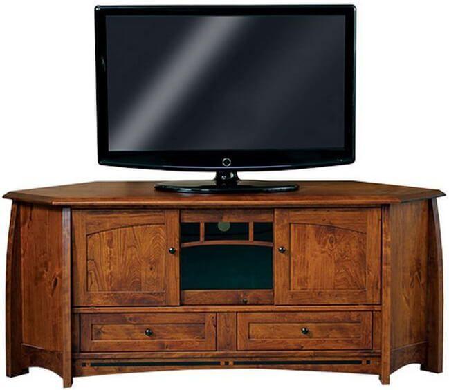 Coronado Amish Corner TV Stand