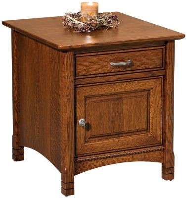 Adrianna Enclosed End Table