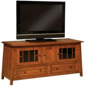 Alaterre 3-Door TV Console