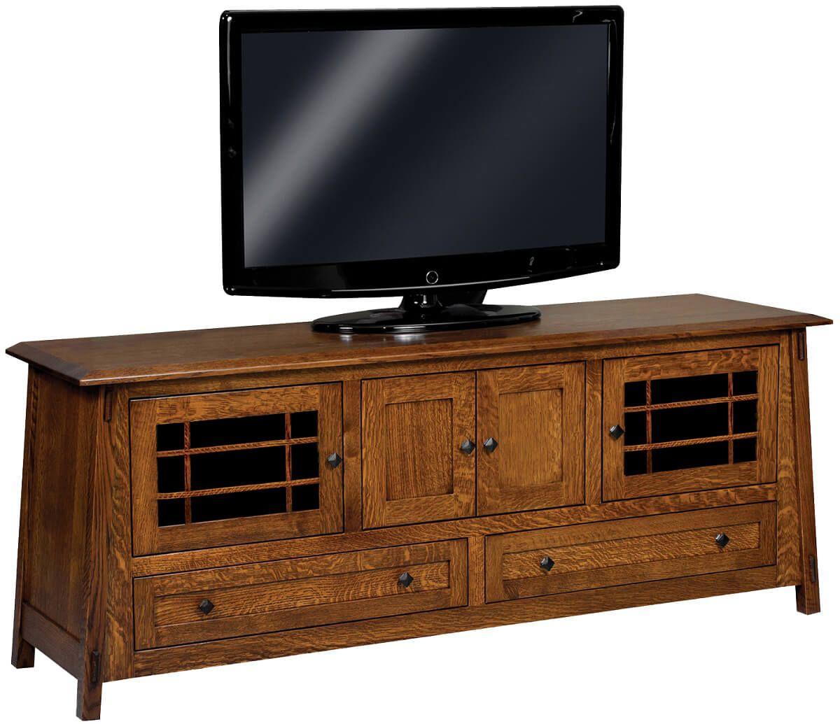 Alaterre 4-Door TV Stand
