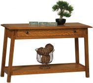Alaterre Open Console Table