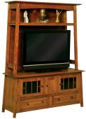 Alaterre TV Stand with Hutch