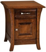 Alix Cabinet End Table
