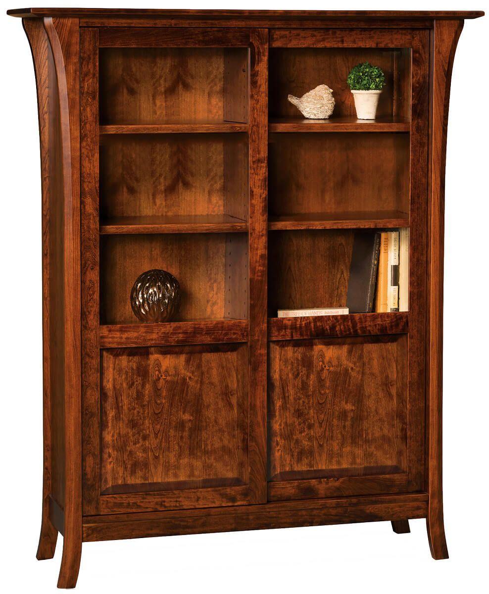 Alix Double Bookcase