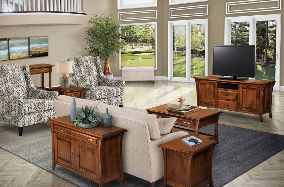 Alix Living Room Furniture Set image 1