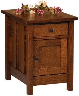 Alvarado Enclosed End Table