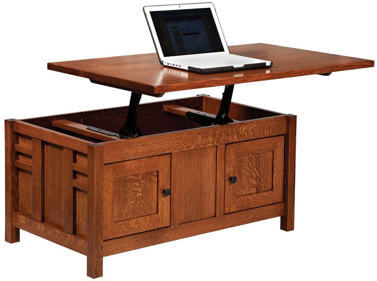 Alvarado Enclosed Lift-top Coffee Table