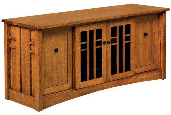 Alvarado Pull Out Storage Tv Stand