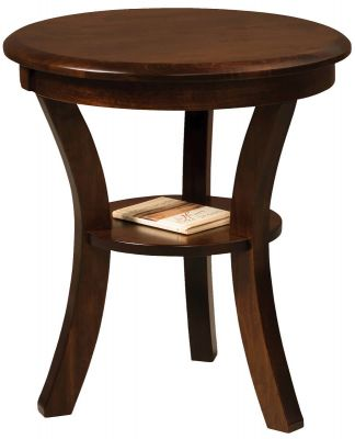 Carlton 22-inch Round End Table