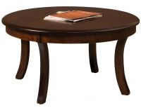 "Carlton 38"" Round Solid Top Coffee Table"