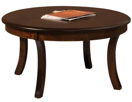 Carlton 38-inch Round Solid Top Coffee Table