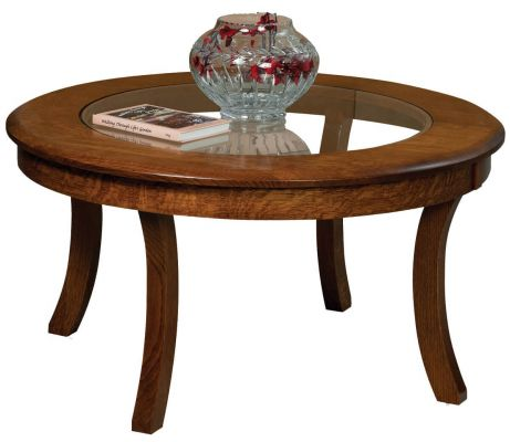 Carlton Glass Top Coffee Table